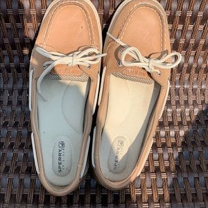 Women's Sperry Top Sider Leather Shoes